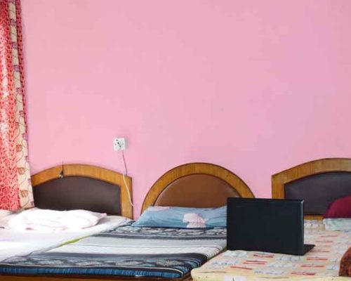 3 sharing bedrooms-RadhaKrishna girls and boys hostel