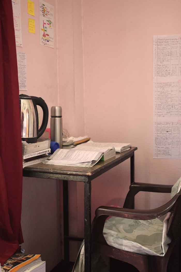 Study chair-RadhaKrishna girls and boys hostel