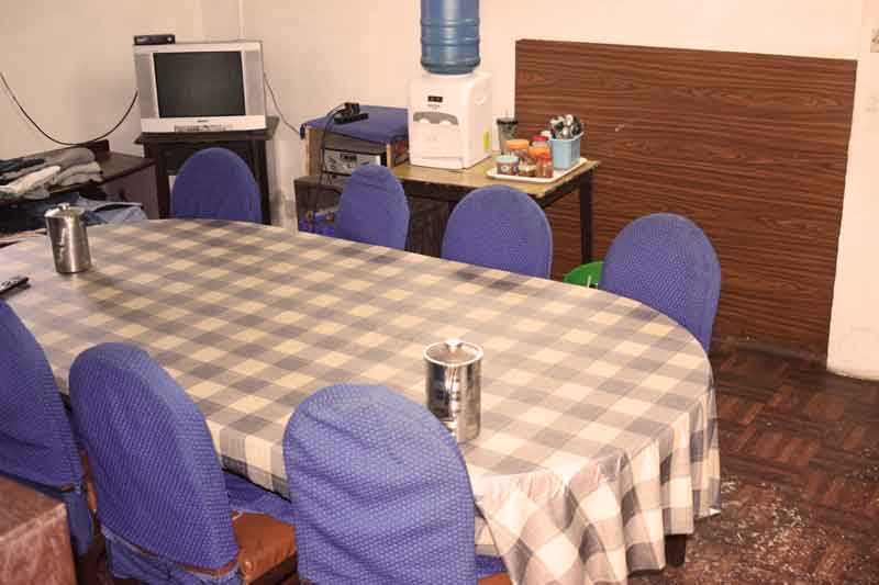 Dining table- RadhaKrishna girls and boys hostel