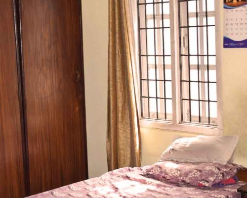 Clean bedroom- RadhaKrishna girls and boys hostel