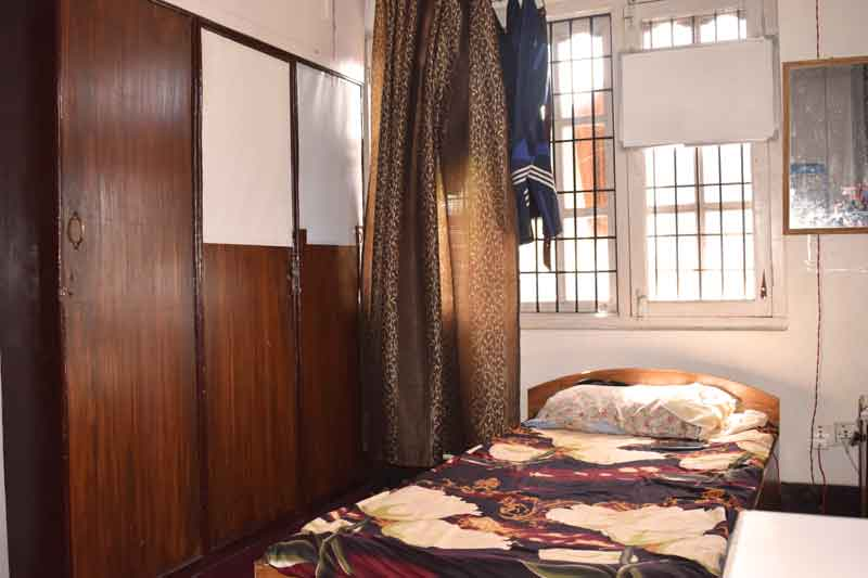 Single room- RadhaKrishna girls and boys hostel